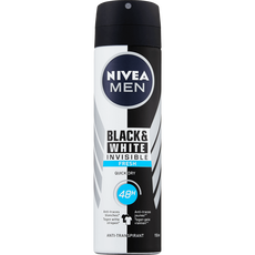 NIVEA MEN Black & White Invisible Fresh Deodorant Spray