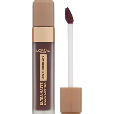 L'Oréal Paris Make-Up Designer Les Chocolats Lipstick - 868 Cacao Crush - Rood - Ultra Matte Lipstick met Chocoladegeur