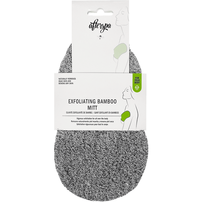 Afterspa Exfoliating Mitt Bamboo