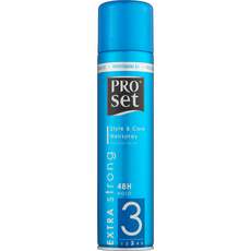 Proset Style & Care Extra Strong Hairspray level 3