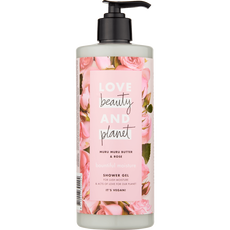 Love Beauty And Planet Bountiful Moisture Muru Muru Butter & Rose Shower Gel
