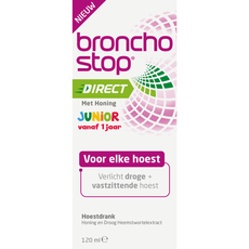 BronchostopHoestdrank Direct Junior met Honing