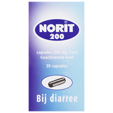 Norit 200 mg 30 Capsules