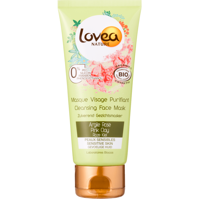 Lovea Cleansing Face Mask Pink Clay