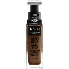 NYX Professional Makeup Can't Stop Won't Stop Foundation Cocoa CSWSF21
