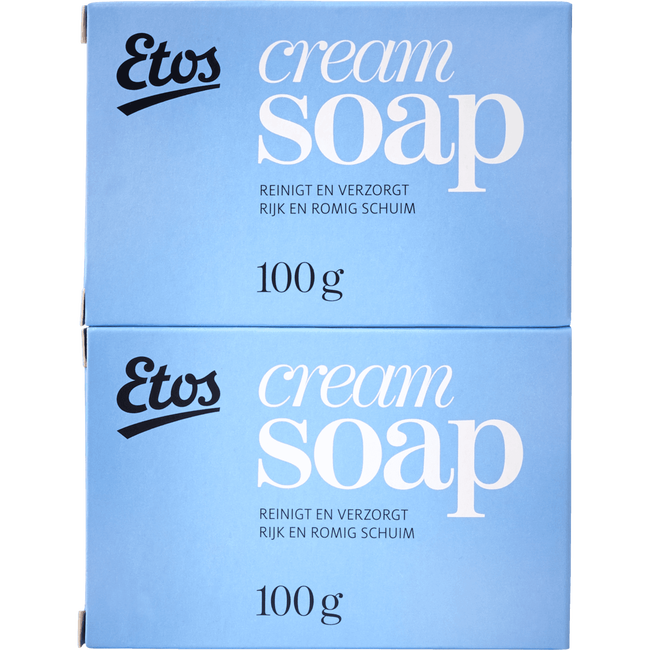 Etos Cream Soap