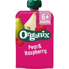 Organix  Just  Pear & Raspberry