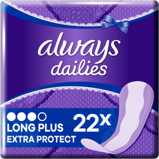 Always Dailies Extra Protect Inlegkruisjes Long Plus 22 stuks