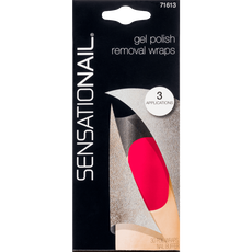 Sensationail Gel Polish Removal Wraps