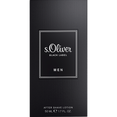 s.Oliver black label man after shave lotion 50ml