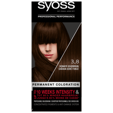 Syoss Salonplex Permanent Coloration 3-8 Donker Goudbruin
