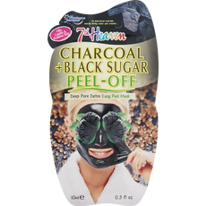 Montagne Jeunesse 7th Heaven Charcoal + Black Sugar Peel-Off Masker