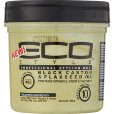 Eco Black Castor Flaxseed Styling Gel