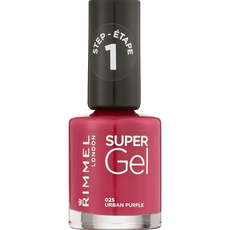 Rimmel London Super Gel Nailpolish - 025 Urban Purple