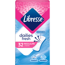 Libresse Daily Fresh Inlegkruisjes Normal