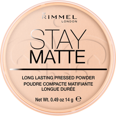 Rimmel London Stay Matte Pressed Powder- 03 Peach Glow