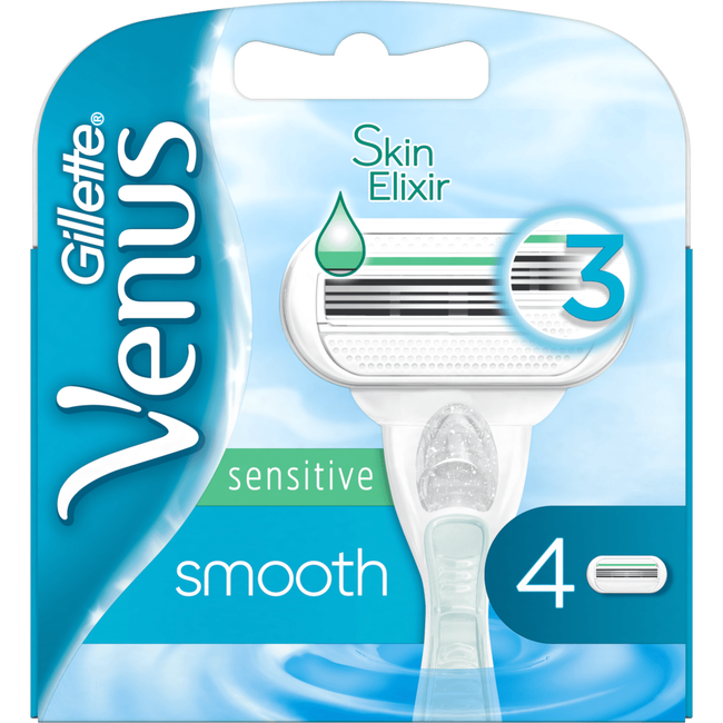 Gillette Venus Smooth Sensitive Mesjes