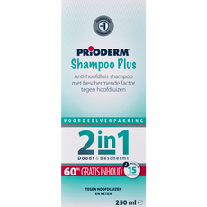 Prioderm Shampoo Plus Anti-Hoofdluis