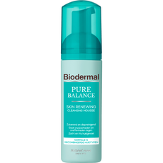 Biodermal Pure Balance Skin Renewing Cleansing Mousse
