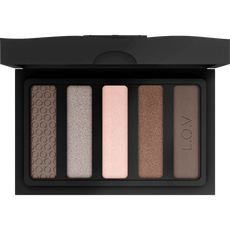 L.O.V Eyevotion Luxurious Eyeshadow Palette 700 Devoted To Nude