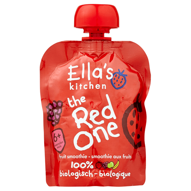 Ella's Kitchen Smoothie The Red One 6+ Maanden