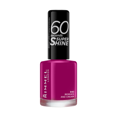 Rimmel London 60 Seconds Super Shine Nagellak 340 Berries And Cream