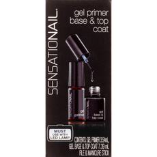 Sensationail Gel Primer Base & Top Coat