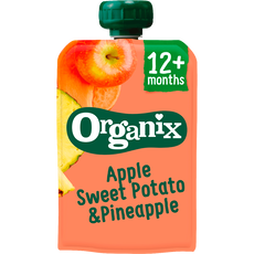 Organix Bio Knijpzakje Just Apple Sweet Potato Pineapple
