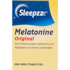SleepzZ Melatonine Original Smelttabletjes