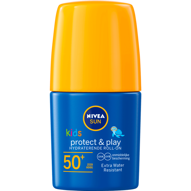 Nivea Sun Kids Zonnebrand - Protect & Play Hydraterende Roll-On - Spf50+