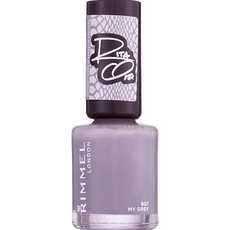 Rimmel London 60 Seconds Supershine Nailpolish - 807 My Grey