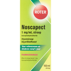Roter Noscapine 1 mg/ml Hoestsiroop