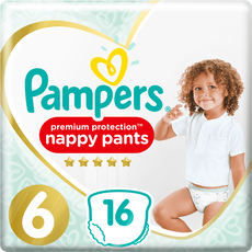 Pampers Premium Protection Pants Luierbroekjes 6