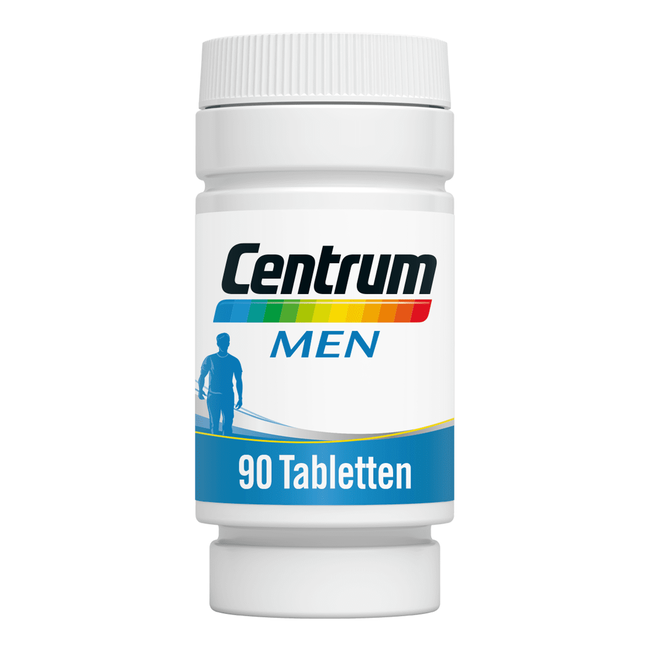 Centrum Men Multivitaminen Tabletten 90 stuks