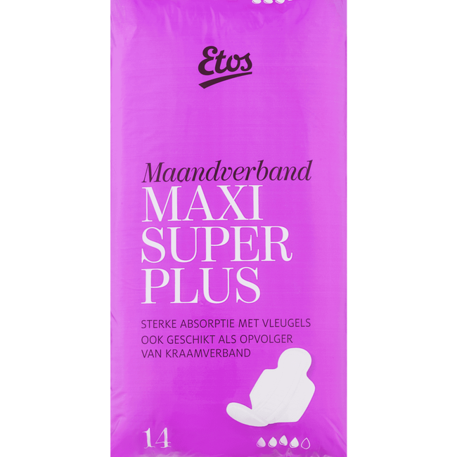 Etos Maxi Maandverband Super Plus