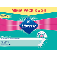 Libresse Daily Fresh Long Inlegkruisjes Mega Pack