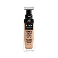 NYX Professional Makeup Can't Stop Won't Stop Foundation  Natural CSWSF07