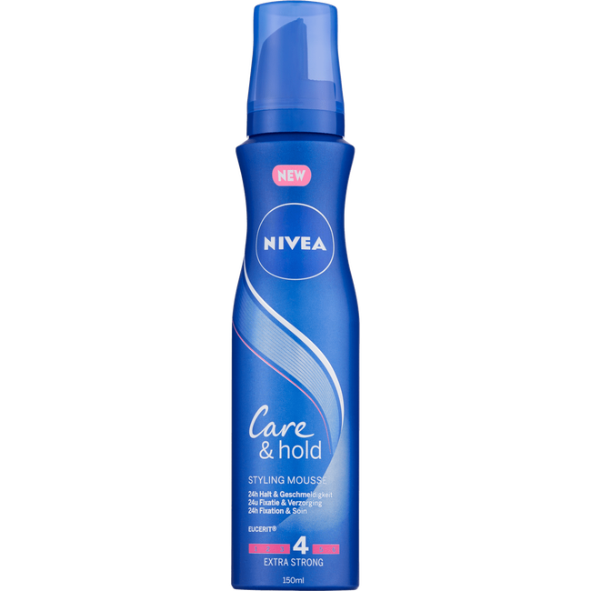 NIVEA Care & Hold Haarmousse 150 ML