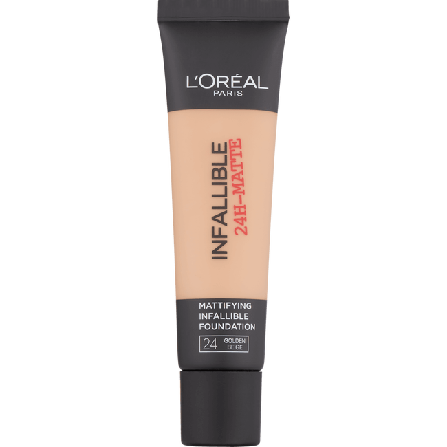 L'Oréal Paris Infaillible 24H-Matte Foundation 24 Beige Doré