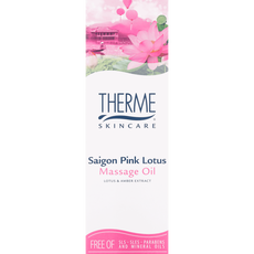 Therme Saigon Pink Lotus Massage Oil