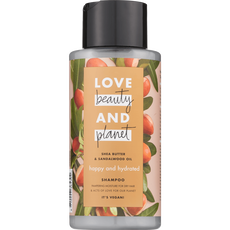 Love Beauty And Planet Happy & Hydrated Shea butter & Sandalwood Oil Shampoo