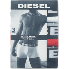 Diesel 3pack boxershorts White/Red/Black M