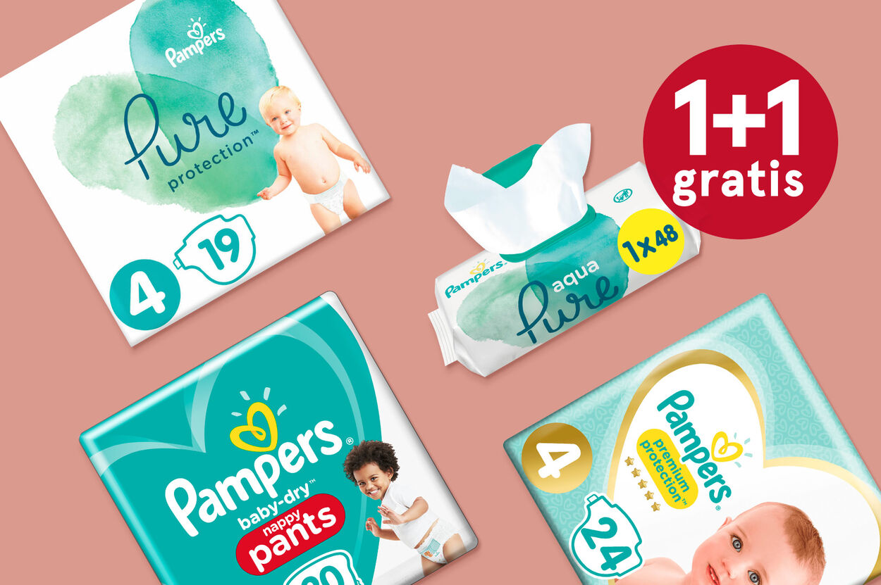 Pampers 1+1