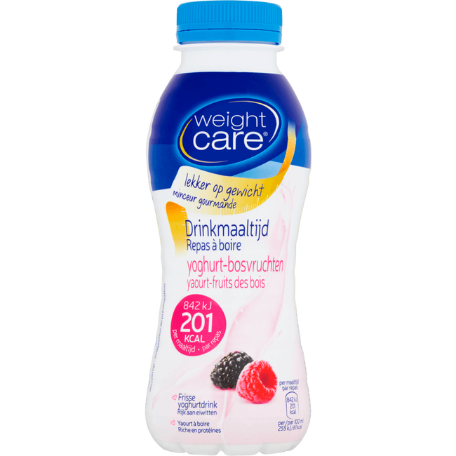 Weight Care Yoghurt-Bosvrucht Drinkmaaltijd