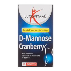 Lucovitaal Cranberry & D-Mannose+