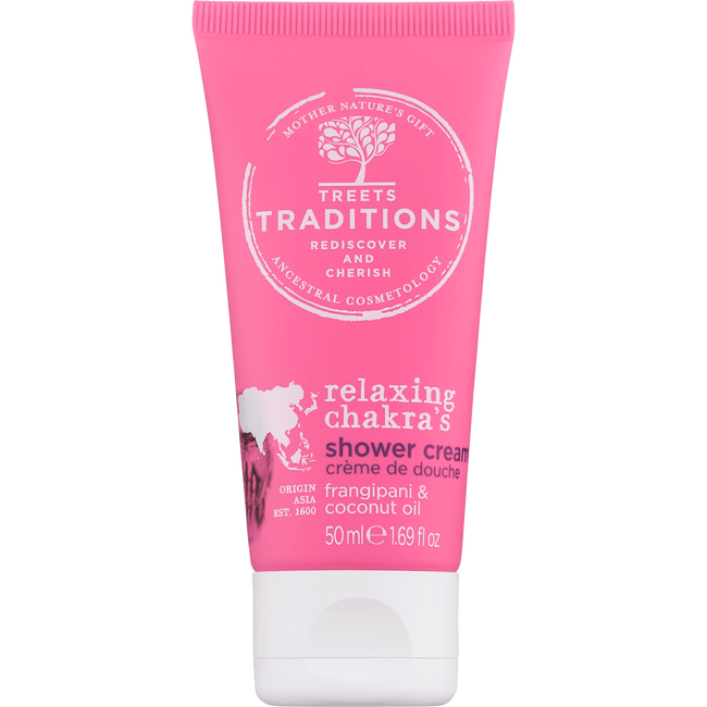 Treets Traditions Relaxing Chakra's Shower Cream Mini