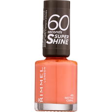 Rimmel London 60 Seconds Supershine Nailpolish - 415 Instyle Coral