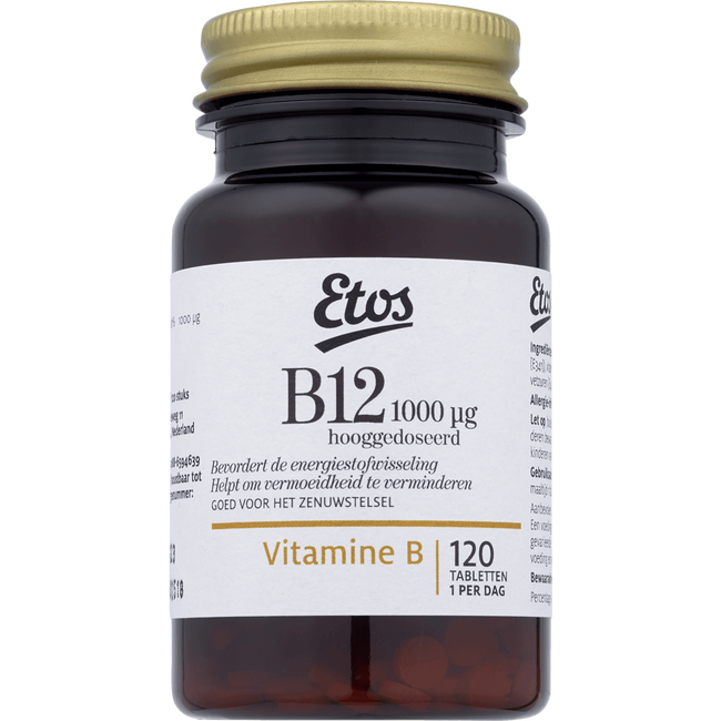 Etos Vitamine B12 Tabletten