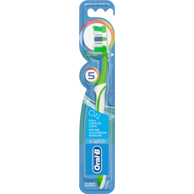 Oral-B Complete 5 Way Clean Tandenborstel Medium