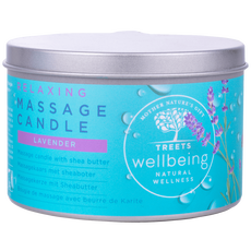 Treets Wellbeing Massage Candle Relaxing